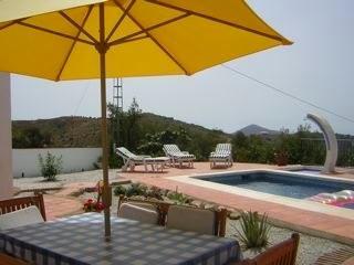 Villa Miba patio umbrella
