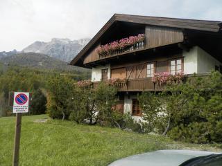 Cà del Castello centrale appartamento vista Tofane, Cortina D'Ampezzo