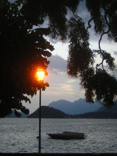Early evening on Lake Como