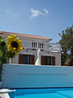 Private swimming pool - Skopelos Country Villa Delfi