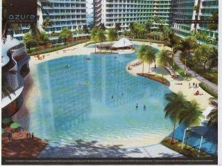 Luxury resort condo near airport & shopping malls