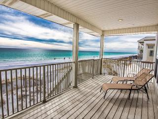 ETERNAL SUNSHINE-GULF FRONT LUXURY,,DAILY BEACH SETUP! NEAR SANDESTIN RESORT