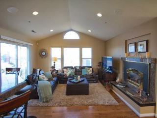 Long View of Living Room from Dining Area.