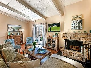 Comfortable, Spacious Living Room with Fireplace