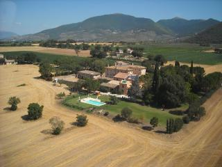 apartments in country house near to Spoleto