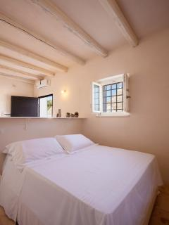 Spacious en-suite bedroom in the guest-house (with air-conditioning)