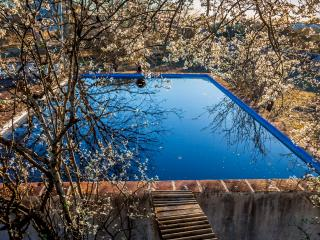 Historic house with pool for bigs families