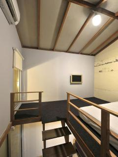 All lofts comes with TV, Wi- Fi, Air condition, towels, hot shower, body shampoo and etc
