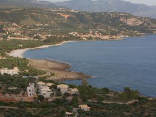 Boutique hotel by sea in Kardamili, Peleponese