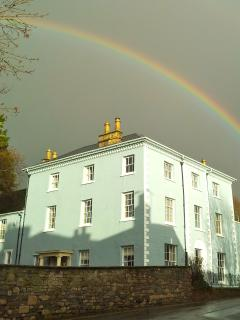 Rainbow over Bove Town House
