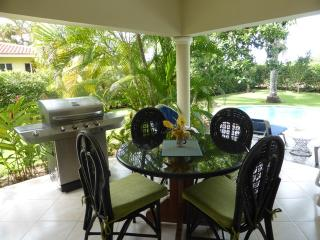 Villa Colibri, Fully renovated, TV in master bedroom and Living room. Safe in both bedrooms. Charming style with water purification system. Big green lawn in the backyard great for children to run around in!(35), Sosua