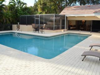 Pelican Bay Single Family Home & Pool facing South