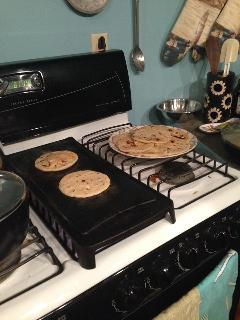 Making Pupusas at the Casa Rara