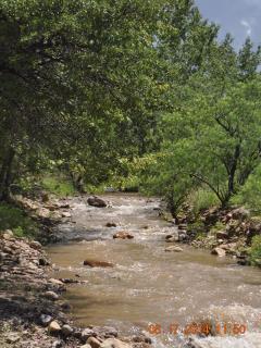 Rock Creek with seasonal flow