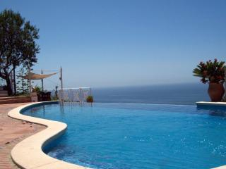 Infinity pool out to sea
