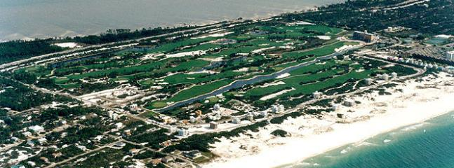 View of Kiva Dunes Golf Course and Gulf Shores Plantation