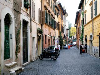 Albertina's house in Trastevere