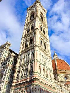 The Cathedral with Giotto's bell tower - la Cattedrale con il campanile di Giotto