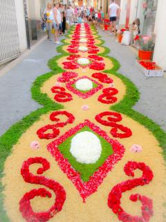 Corpus Christie / Flower festival in the streets