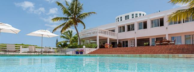 Villa Paradise SPECIAL OFFER: Anguilla Villa 104 Built Of White Stucco Combines Natural Beauty With Quiet Elegance While Offering Unrivalled Views., Blowing Point