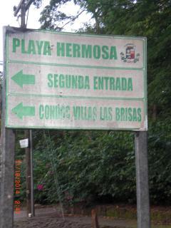 From main road turn into 2nd entrance/Condos Villas Las Brisas. In Spanish-Segunda Entrada