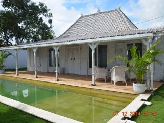 Bali Canggu Berewa Beautiful villa of Javanese and colonial style