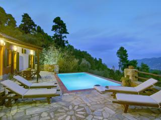 Unique private pool villa, Skopelos