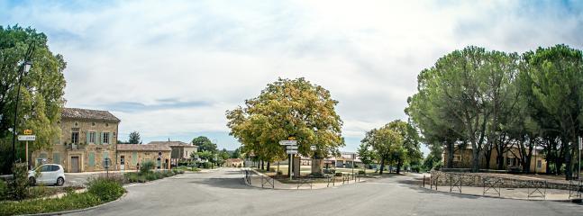 Town square La Bruguiere