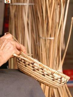 Artisanat sarde, fabrication de vannerie