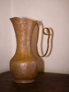 Urn in master dressing area