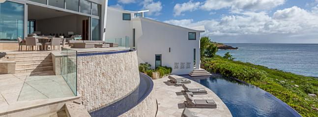 AVAILABLE CHRISTMAS & NEW YEARS: Anguilla Villa 126 The Master Bedroom Suite Has Its Own Private Terrace, An Outdoor Shower, And An Individual Hot Tub, All Overlooking The Atlantic Waters., Anguila