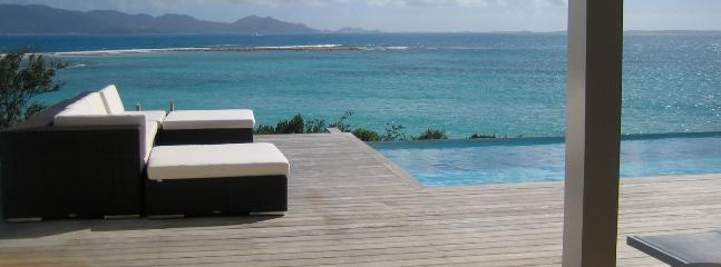 SPECIAL OFFER: Anguilla Villa 106 Below The Swimming Pool Overflow, A Small And Separate Sundeck, Overlooking The Sea, Will Guarantee Your Privacy., Blowing Point