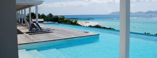 Villa Shutters On The Beach SPECIAL OFFER: Anguilla Villa 105 Below The Swimming Pool Overflow, A Small And Separate Sundeck, Overlooking The Sea, Will Guarantee Your Privacy., Blowing Point