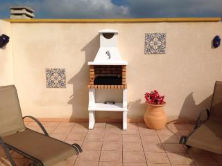 BBQ on roof solarium