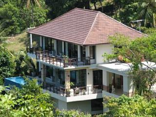 Deluxe  sea view villa 3 bedrooms en-suite, Koh Samui