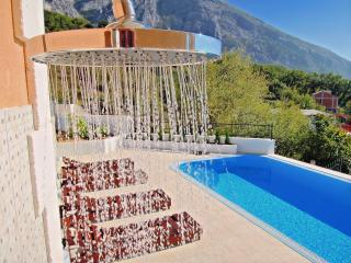 VILLA WITH POOL, GARDEN , NEAR  MOUNTAIN SEE VIEV, Makarska