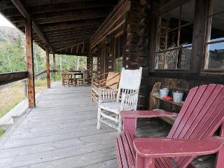 Plenty of room to relax on the porch