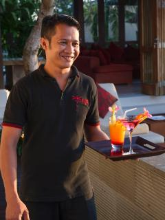 Villa Capung Service with a Smile...