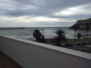Terraza con vistas a la Playa Sur.