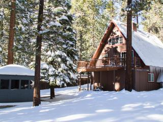 Multi-level A-Frame Cabin w/ PRIVATE HOT TUB,