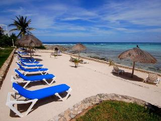Lovely 2 bedroom condo on the beach level with lovely ocean views., Akumal