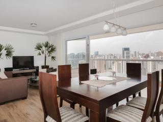 Bright 3 Bedroom Apartment in Vila Olimpia, Sao Paulo