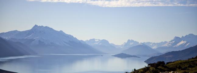 View from the Lodge of Lake Wakatipu