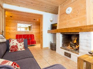 Beautiful three bedroom duplex with open fireplace, Chamonix