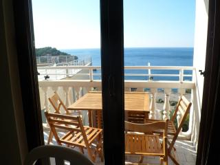 Family Apt with amazing sea view & acces to sea, Przno