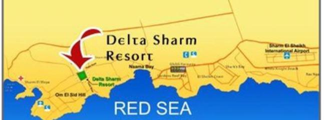 Map of Delta Sharm