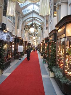 nearby attraction: Burlington Arcade