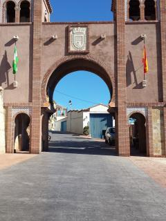 New Moorish Archway to Comares