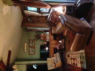 LIVING ARE WITH NEW HARDWOOD FLOORS