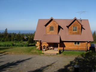 Acclaimed View Log Cabin,, Homer